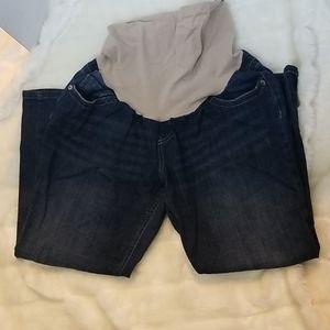 3/$28Capri maternity jeans